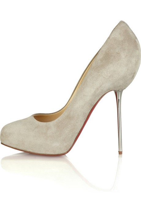 Christian Louboutin Big Lips 120 Suede Pumps
