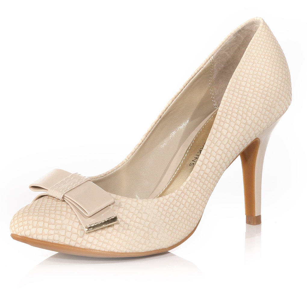 Dorothy Perkins Nude Court Shoes